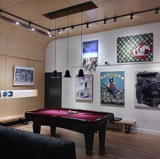 Exhibition in ALoft Harlem