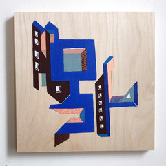 Building Abstraction on wood _5