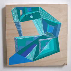 Building Abstraction on wood _6