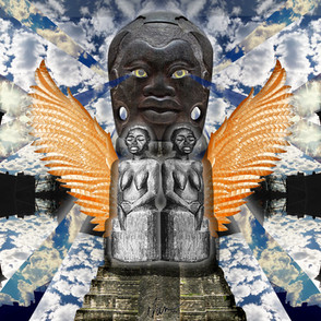 Woman Goddess Owl Olmec