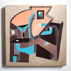 Building Abstraction on wood _3