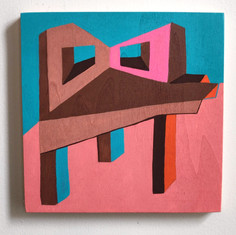 Building Abstraction on wood _8