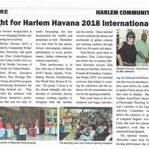 Harlem Havana Article