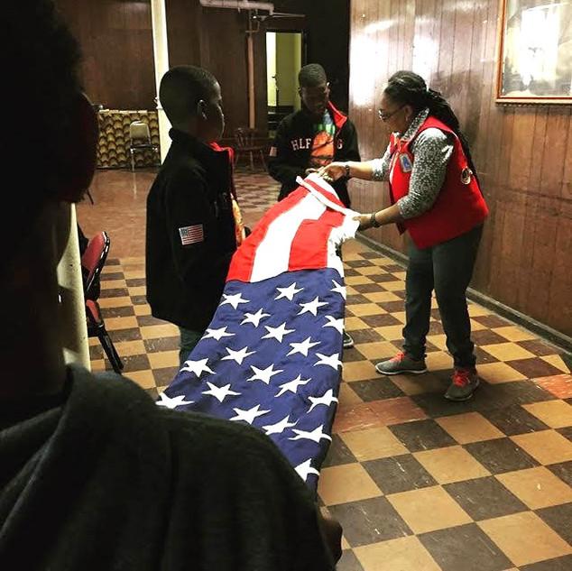 Flag Folding