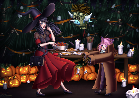 Halloween 2020 | Postkarte