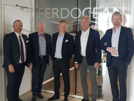 FERDOCEAN SHIPPING SIGNS A 5-YEAR EXCLUSIVE COLLABORATION AGREEMENT WITH SAR AS