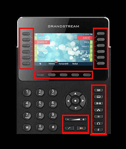 Grandstream 2170 Feature Keys