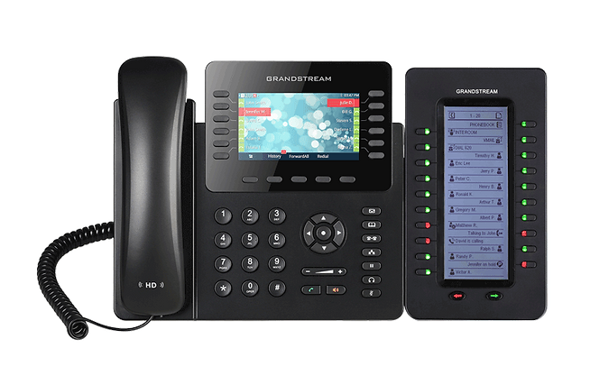 Grandstream GXP2170 with extension module