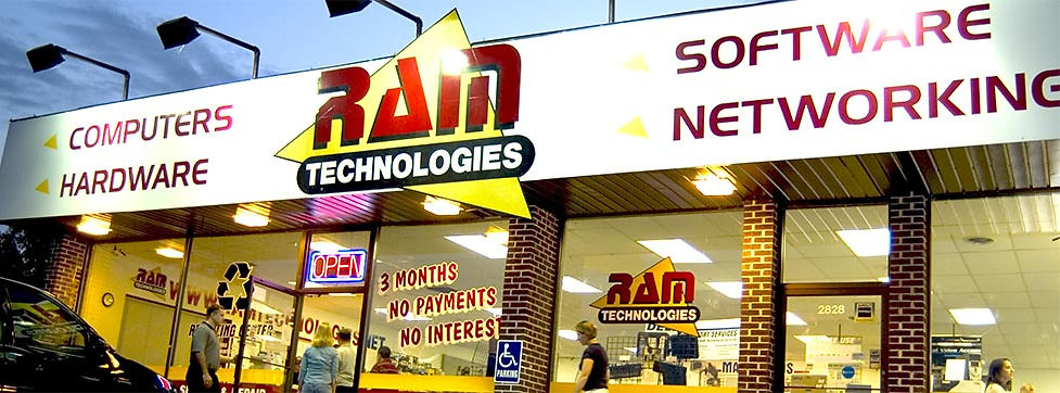 RAM Technologies Storefront