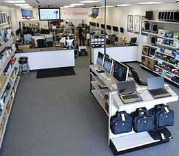 Inside the store of RAM Technologies, Eau Claire, WI