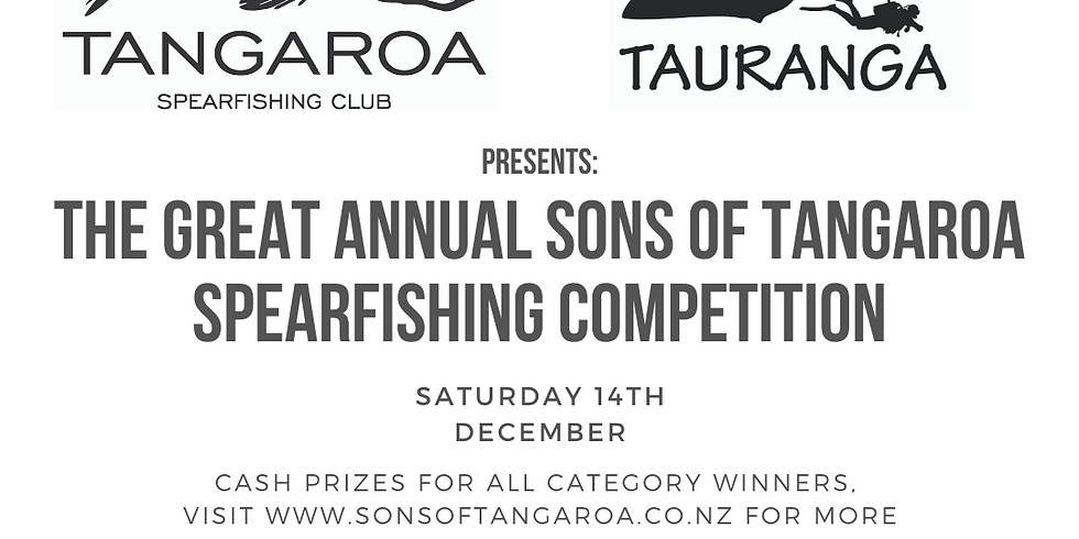 The Great Annual SOT Spearfishing Comp!