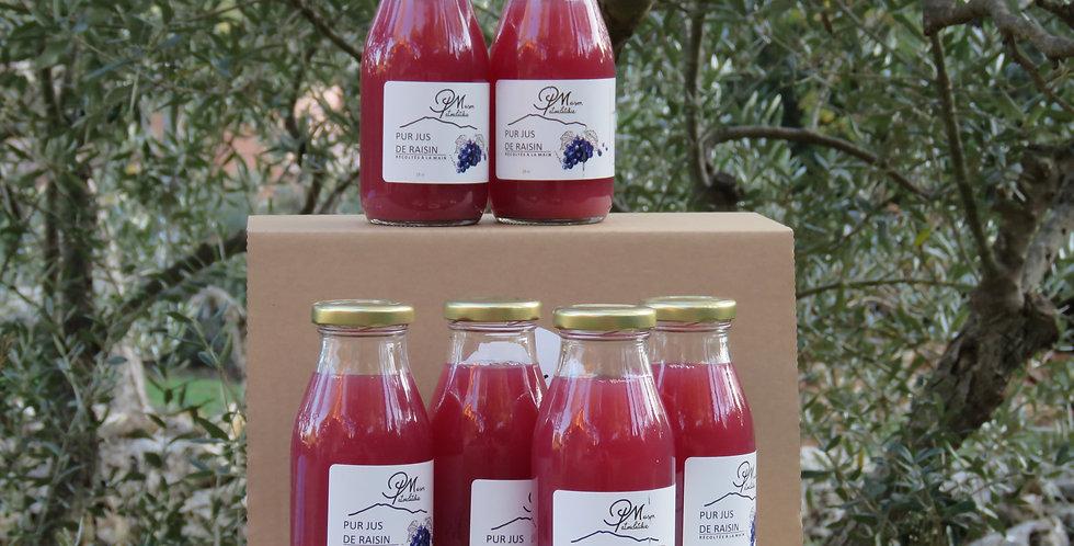 Pack 6 jus de raisin