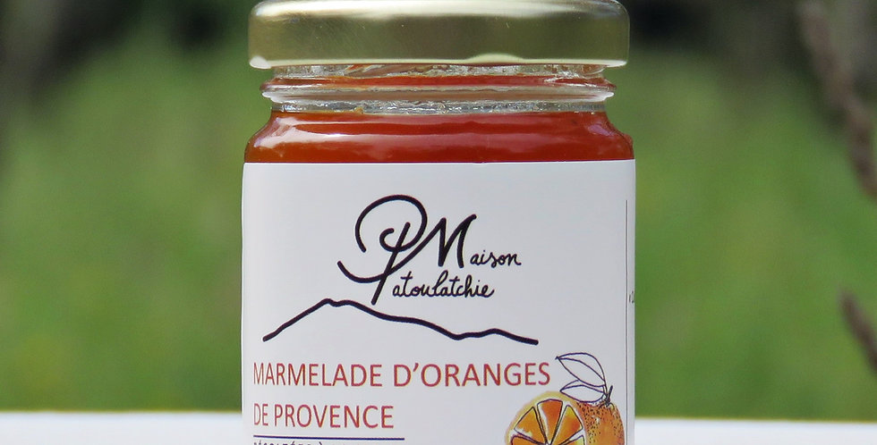 Marmelade d'orange (100g)