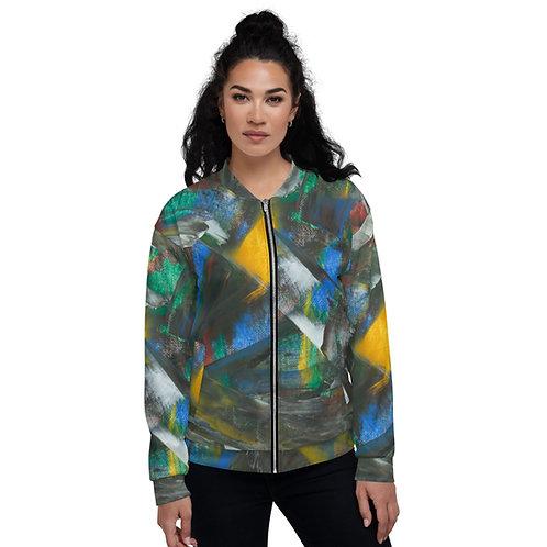 Cynthia Verna's Painting on your Unisex Bomber Jacket !