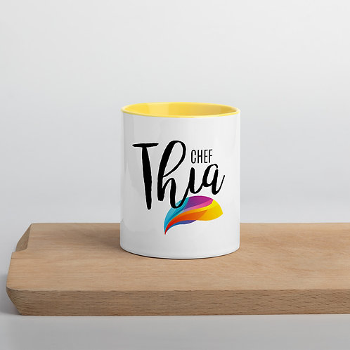 Chef Thia Mug with Yellow Inside
