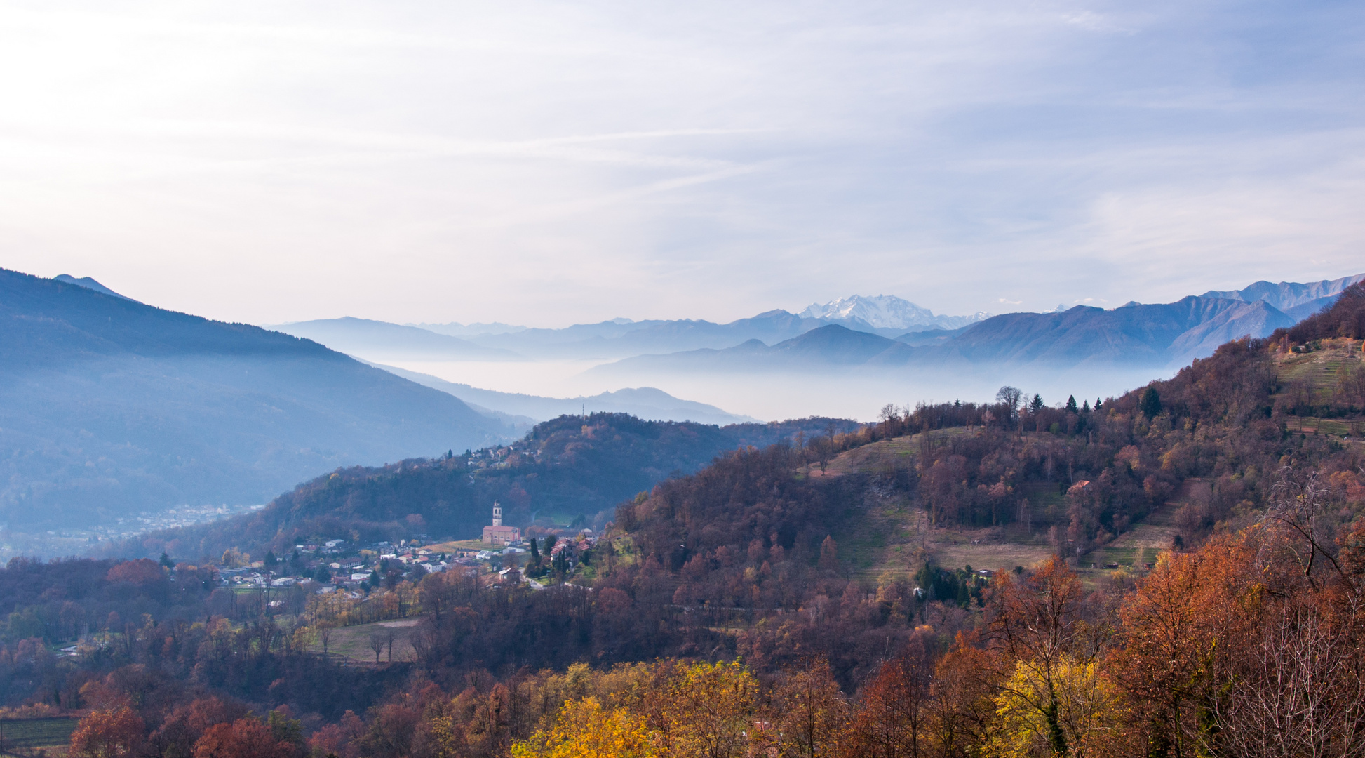Malcantone Panoramic View