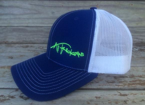 Navy Blue /White Mesh Cap