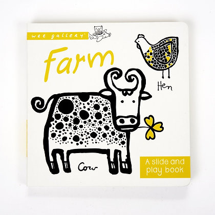 Farm: A Slide and Play Book