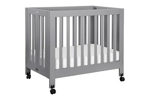 (In Stock) Origami Mini Crib (Grey)