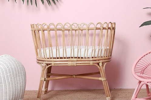 Gerhana Rattan Bassinet by Momiji Kids