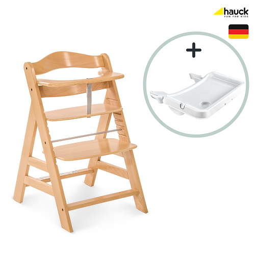 Alpha+ Deluxe: Highchair + Tray (Avail Mid April)