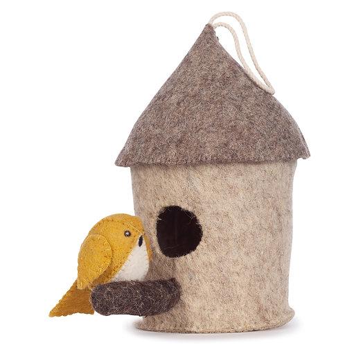 Mus Birdhouse (Yellow)