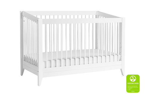 Sprout 3-in-1 Convertible Crib (White)