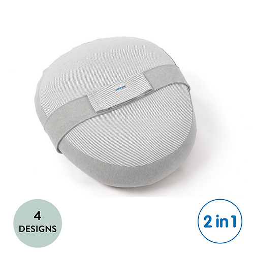 Relax Cover: Organic Cotton Conversion Kit for Nursing Pillow