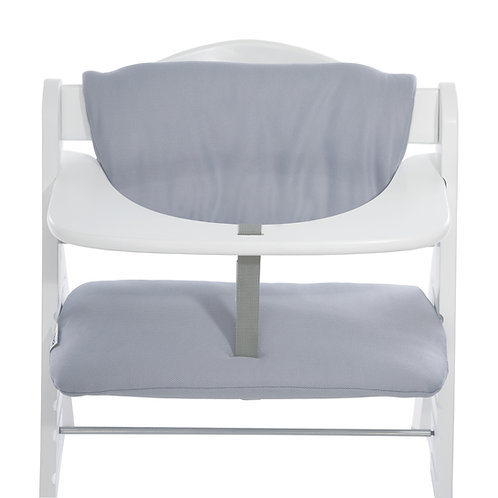 Highchair Cushion Deluxe For Alpha+ (Stretch Grey)
