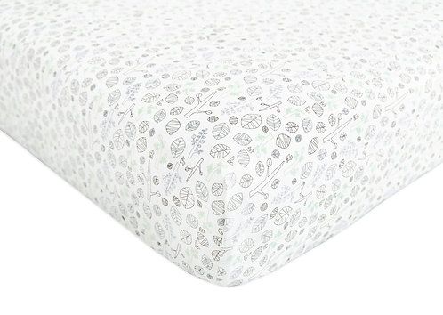 Tranquil Woods Fitted Crib Sheet