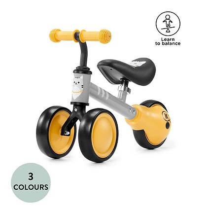 Cutie Mini Balance Bike & Ride-On Toy (Yellow)