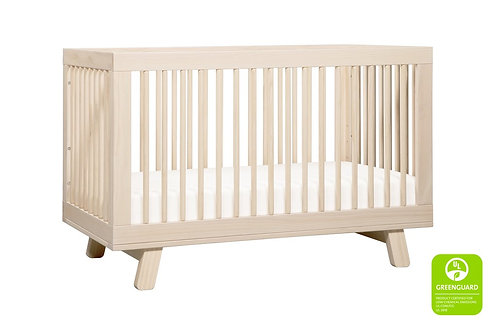 Hudson 3-in-1 Convertible Crib (Washed)