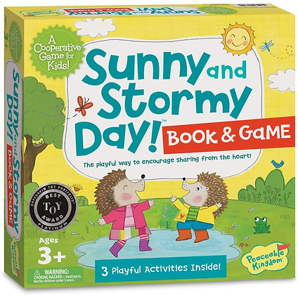 Peaceable Kingdom Sunny and Stormy Day: A Cooperative Sharing Game for Kids