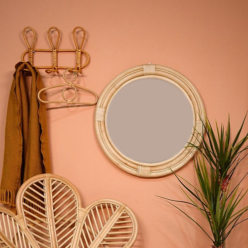 Nautical Rattan Mirror (Small)