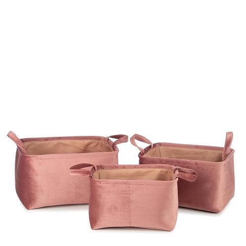 Billie Basket - Set of 3 (Pink)