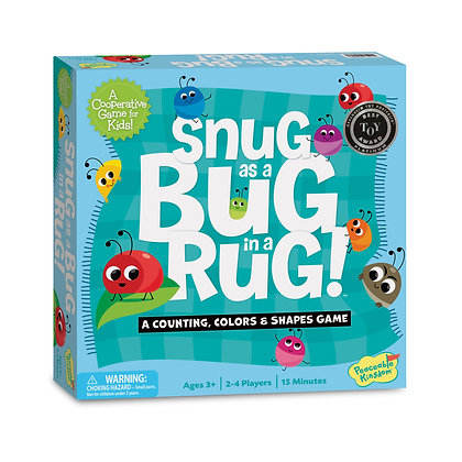 Snug as a Bug in a Rug: A Counting, Colors & Shapes Game