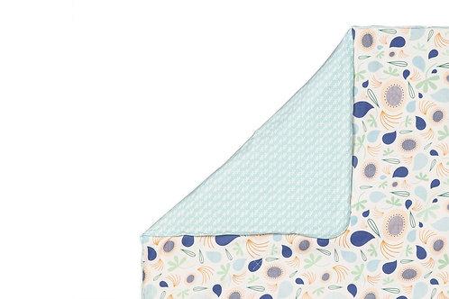 Fleeting Flora 2-in-1 Play & Toddler Blanket