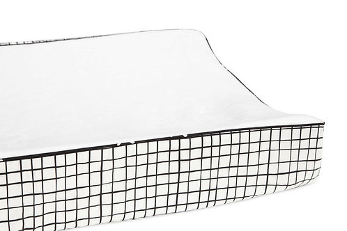 Tuxedo Changing Pad Cover