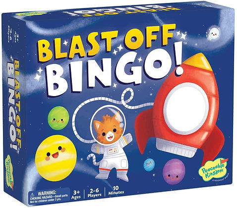 Peaceable Kingdom Blast-Off Bingo