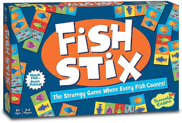 Peaceable Kingdom Fish Stix: The Strategy Game Where Every Fish Counts!