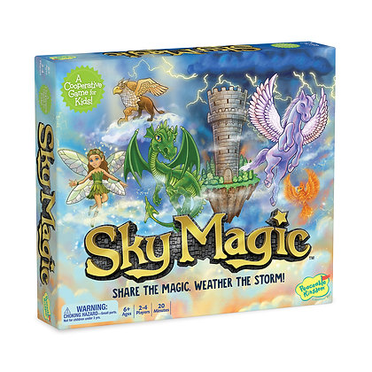 [Xmas] Sky Magic: A Continuously Shifting Cooperative Game