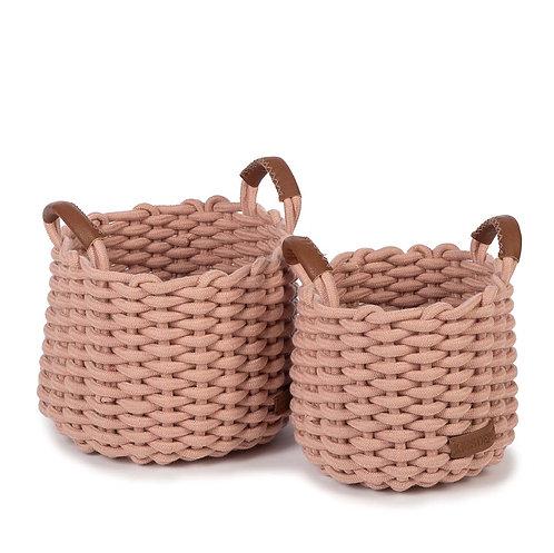 Korbo Basket - Set of 2 (Pink)