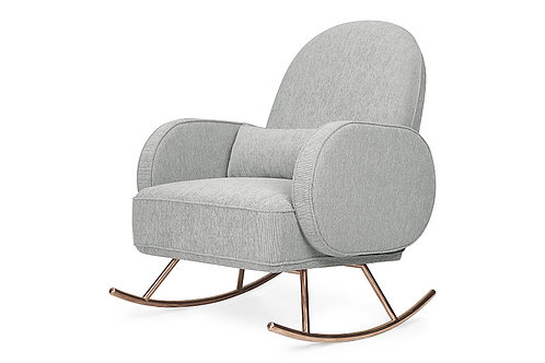 Compass Rocker (Light Grey Weave)