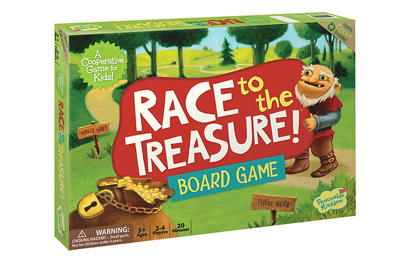 Peaceable Kingdom Race to the Treasure! The Race is On!