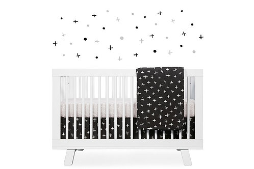 Tuxedo 5-Piece Nursery Crib Bedding Set