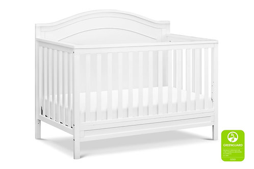 (In Stock) Charlie 3-in-1 Convertible Crib (White)