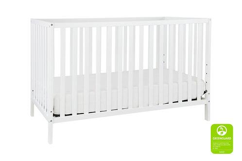 (In Stock) Union 3-in-1 Convertible Crib (White)