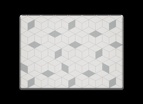 Labyrint Grey Play Mat (Generös 200 x 140cm)