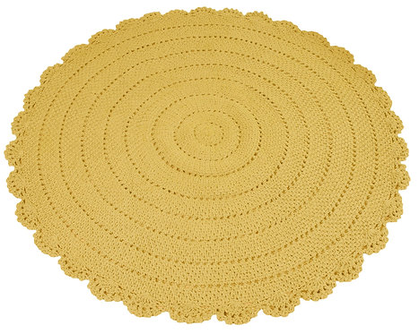 Roundy Rug (Yellow) Ø110cm