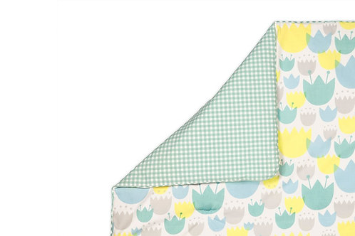 [Preorder] Tulip Garden 2-in-1 Play & Toddler Blanket